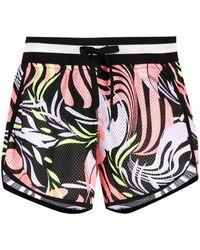 DKNY - Shorts con motivo abstracto - Lyst