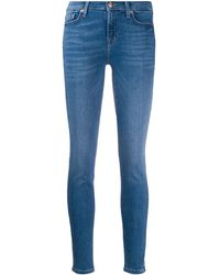 7 For All Mankind - Slim Illusion スキニージーンズ - Lyst
