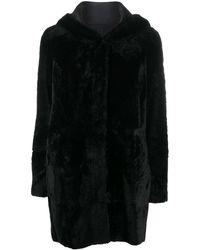 DROMe リバーシブル シングルコート - ブラック