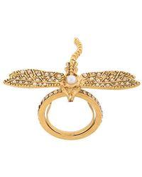 Oscar de la Renta - Dragonfly クリスタル リング - Lyst
