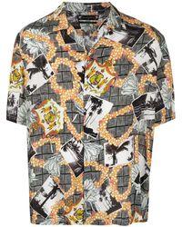 AllSaints Vista リラックスフィット シャツ - ブラック