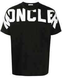 Moncler Rubberized chest T-shirt - Noir
