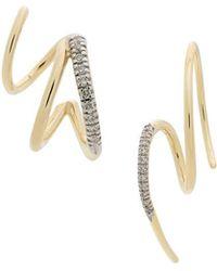 Maria Black - Racer / Fury Set Of Diamond Earrings - Lyst