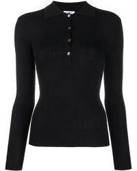P.A.R.O.S.H. スリムフィット ポロシャツ - ブラック
