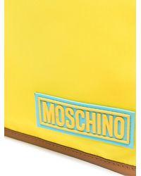 Moschino Клатч С Логотипом - Синий