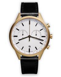 Uniform Wares Часы 'c41 Chronograph' - Металлик