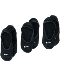 Nike - Pack Of Three Sock - Lyst
