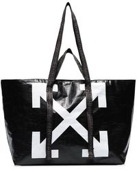 Off-White c/o Virgil Abloh Commercial Arrow Logo Tote - Black