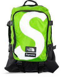 Supreme Рюкзак Из Коллаборации С The North Face - Зеленый