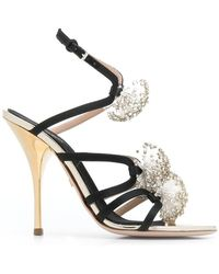 Giambattista Valli - Embellished Strappy Sandals - Lyst