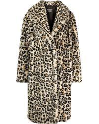 Boutique Moschino Однобортное Пальто С Леопардовым Принтом - Многоцветный