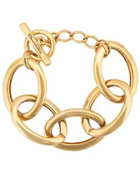 Oscar de la Renta Chain Bracelet - Metallic
