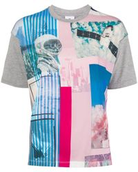 PS by Paul Smith グラフィック Tシャツ - グレー