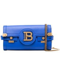 Balmain B-buzz 23 クラッチバッグ - ブルー