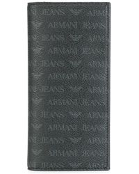 Armani Jeans - Monogrammed Cardholder - Lyst
