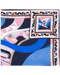 Emilio Pucci - Платок С Абстрактным Принтом - Lyst