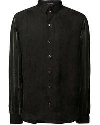 Ann Demeulemeester - Sheer Sleeve Shirt - Lyst