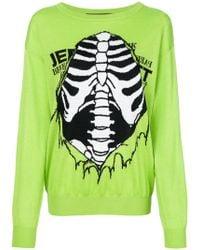 Jeremy Scott - Skeleton Jumper - Lyst