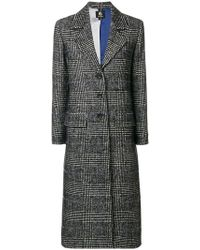 PS by Paul Smith - Multi Checked Coat - Lyst
