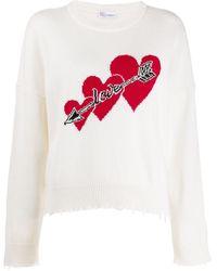 RED Valentino - Love ハート セーター - Lyst