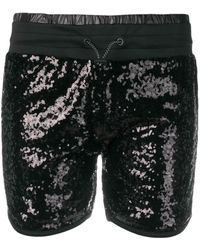 Philipp Plein Sequined Shorts - ブラック