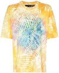 adidas Camiseta con motivo tie-dye de x Pharell Williams - Amarillo