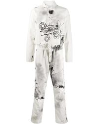 Off-White c/o Virgil Abloh Futura Laboratories ジャンプスーツ - ホワイト