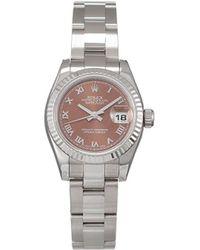 Rolex Наручные Часы Datejust Pre-owned 26 Мм 2020-го Года - Коричневый