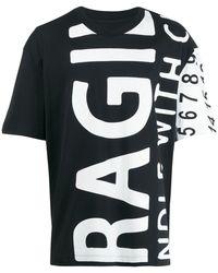 Maison Margiela - Fragile プリント Tシャツ - Lyst