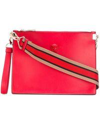 Versace Palazzo Medusa Wristlet Clutch Bag - Rood