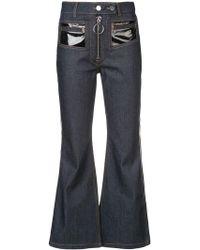 Ellery - Jeans mit weitem Bein - Lyst