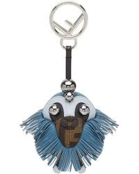 Fendi Space Monkey Bag Charm - Brown