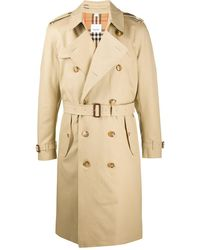 Burberry Gabardina larga Kensington - Neutro
