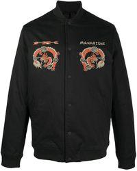 Maharishi グラフィック シャツジャケット - ブラック