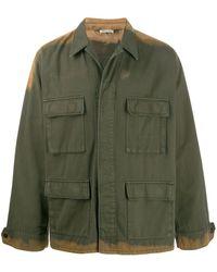 Marni Bleached Utility Shirt - Green