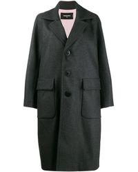 DSquared² - Пальто С Широкими Лацканами - Lyst