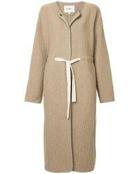 Goen.J - Tie Waist Oversized Coat - Lyst