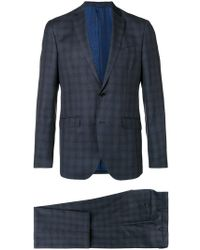 Etro - Checked Suit - Lyst