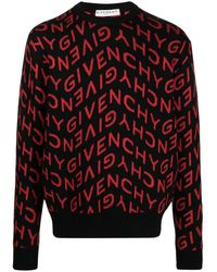Givenchy Refracted Jacquard-woven Jumper - Black