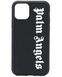 Palm Angels Iphone 11 Pro Hoesje Met Logoprint - Zwart