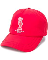 North Sails X 36th America's Cup Presented By Prada Baseball Cap - Red