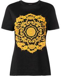 Versace - バロックプリント Tシャツ - Lyst