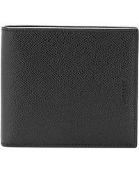 Bally Bifold Logo Embossed Wallet - Black