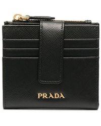 Prada カードケース - ブラック