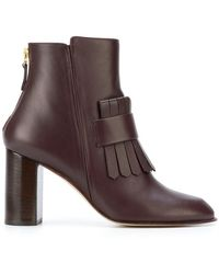 Antonio Barbato Tassle Ankle Boots - Brown