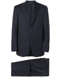 Canali - Tailored Suit - Lyst