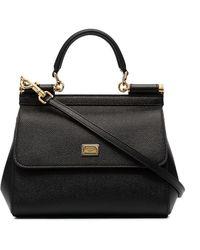 Dolce & Gabbana Sicily ショルダーバッグ S - ブラック