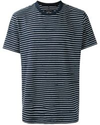 Rag & Bone - Striped T-shirt - Lyst