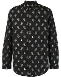 DIESEL - Rabbit Motif Shirt - Lyst