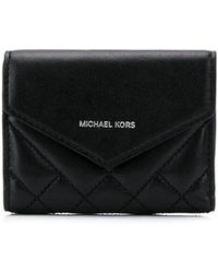 MICHAEL Michael Kors - Small Quilted Wallet - Lyst